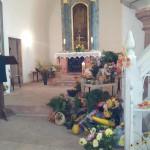 Erntedank Kirche Glasten