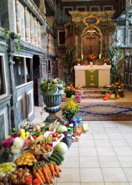 Erntedank Kirche Großbothen