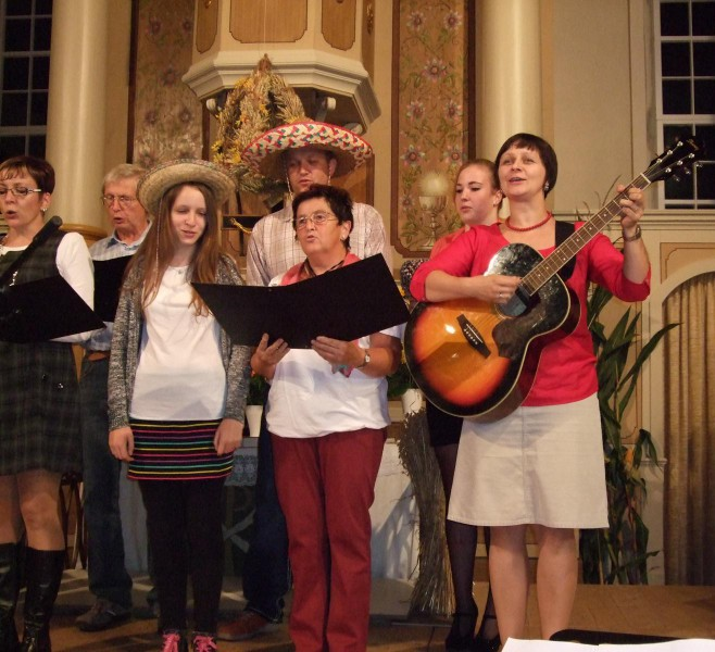 Kabarettabend zur 200-Jahr-Feier der Bergkirche Schönbach