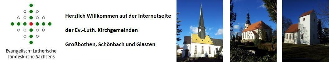 Kirchgemeinde Großbothen, Schönbach, Glasten