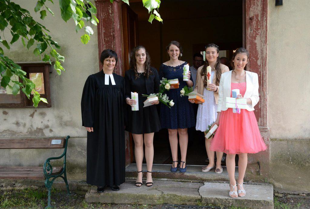 Konfirmation Schönbach