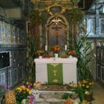 Erntedank Kirche Großbothen Altar
