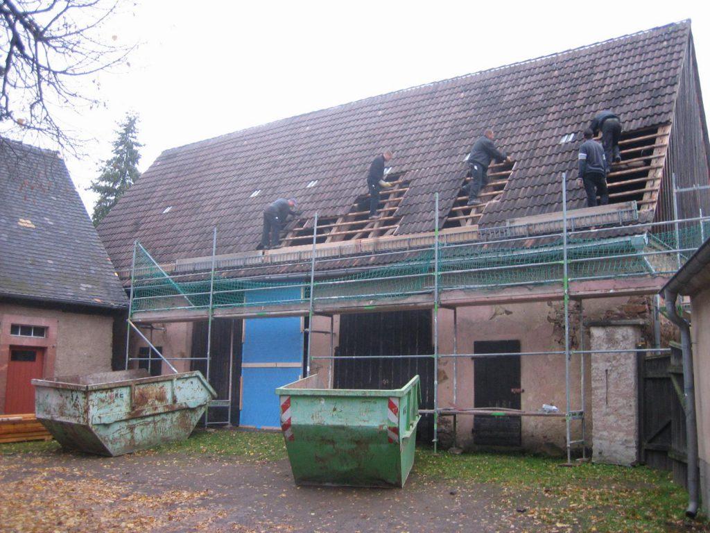 Umbau Pfarrscheune