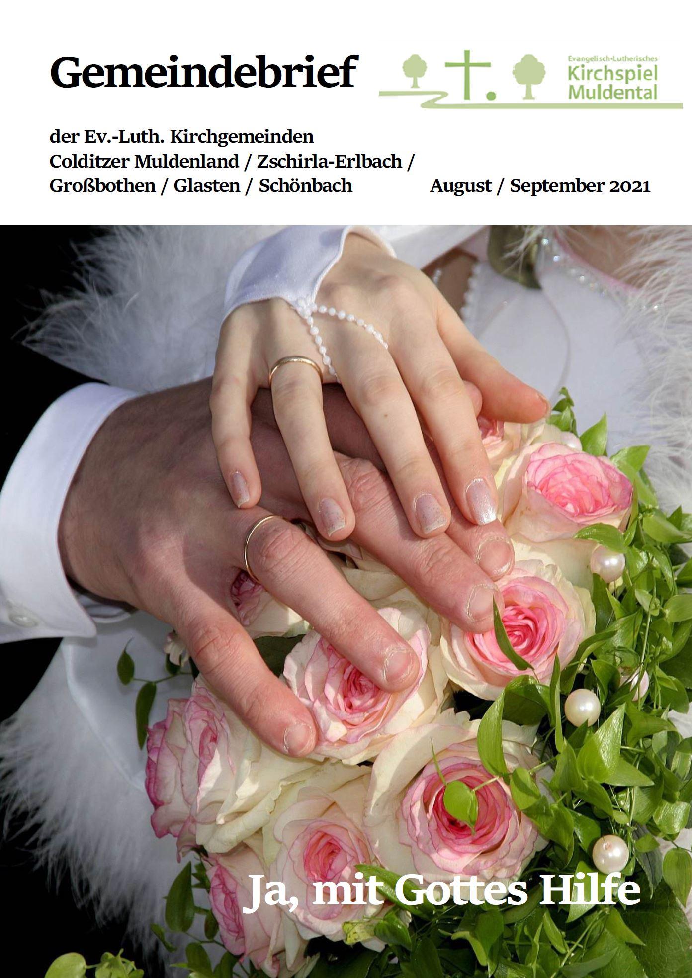 Gemeindebrief August September 2021